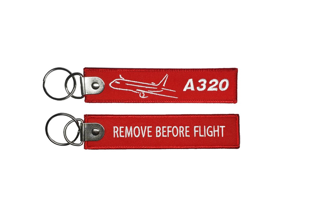 Брелок «Remove before flight А320»
