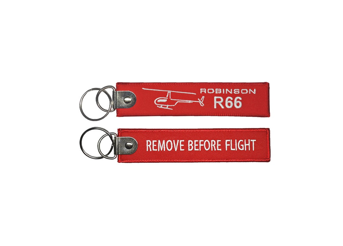 Брелок Remove Before Flight - Robinson 66