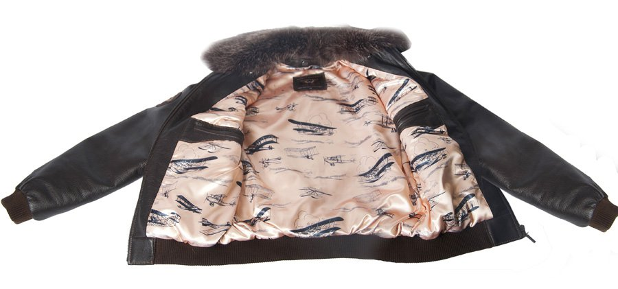 Кожаные куртки пилотов