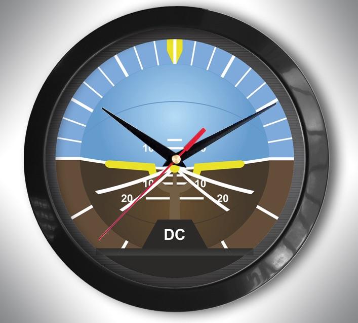 Подарки для пилотов часы настенные